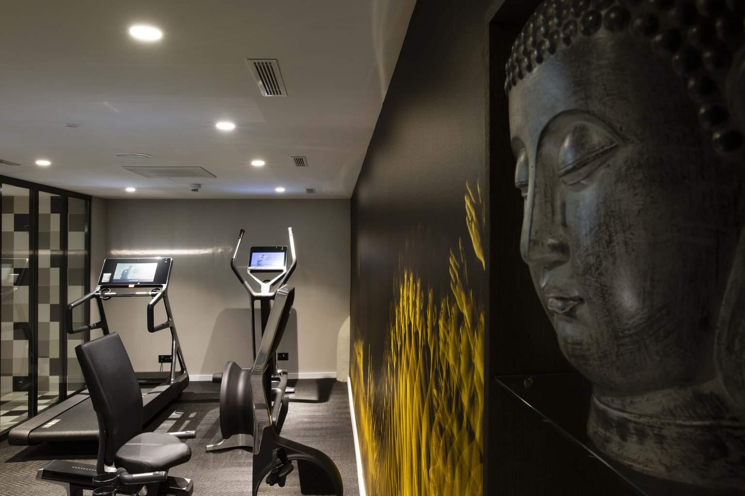 Espace fitness de l'Hôtel D Genève·Hôtel 4* Genève Centre