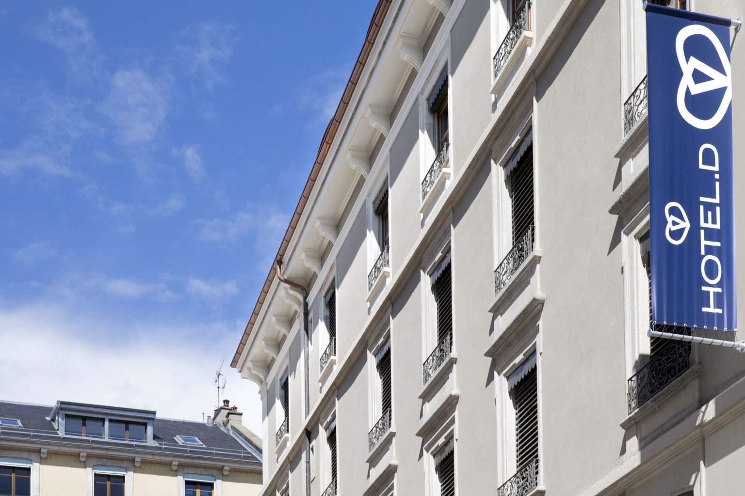 Réception de l'Hôtel D Genève·Hôtel 4* Genève Centre